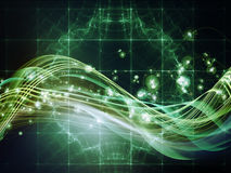 Visualization of Fractal Realms Royalty Free Stock Images