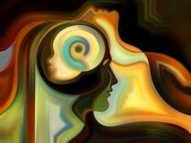 Visualization of Inner Paint Stock Photo