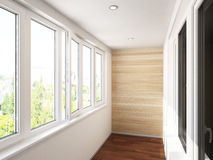 Visualization of the interior. 3D Rendering Royalty Free Stock Image