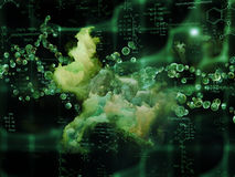 Visualization of Proteins Stock Image