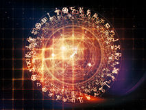 Visualization of Sacred Geometry Royalty Free Stock Photography