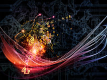 Visualization of Technology Royalty Free Stock Photography