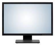 Visualizzatore del computer o affissione a cristalli liquidi TV Immagine Stock