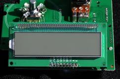Visualizzatore LCD Fotografia Stock