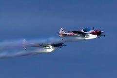 Visualizzazione aeronautica a Sunderland Airshow Immagini Stock