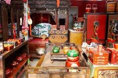 Visualizzazione cinese della mobilia Fotografia Stock Libera da Diritti
