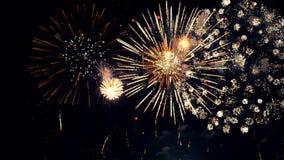 Visualizzazione dei fuochi d'artificio Primo piano