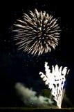 Visualizzazione del fuoco d'artificio Fotografie Stock