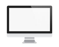 Visualizzazione del imac di Apple isolata Immagini Stock Libere da Diritti