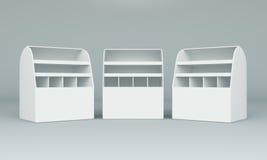 visualizzazione della casella 3D Immagini Stock Libere da Diritti