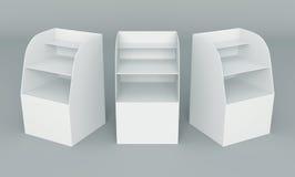 visualizzazione della casella 3D Fotografia Stock Libera da Diritti