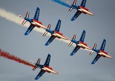 Visualizzazione della Doubai Airshow Immagine Stock Libera da Diritti