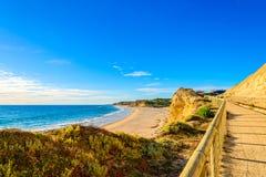Visualizzazione della spiaggia di Willunga della porta, Adelaide Fotografia Stock Libera da Diritti