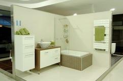Visualizzazione della stanza da bagno immagine stock