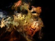 Visualizzazione di spazio di sogno Immagini Stock Libere da Diritti