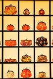 Visualizzazione giapponese delle borse Fotografie Stock Libere da Diritti