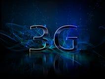 visualizzazione lucida di smartphone 3g Immagine Stock