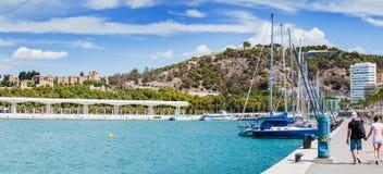 Visualizzazione panoramica di porta marina Fotografie Stock Libere da Diritti
