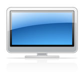 Visualizzazione TV Fotografia Stock