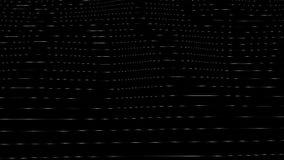 Visuals Generative Ondas na textura transparente vídeos de arquivo