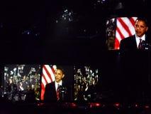 Visuals van Obama royalty-vrije stock fotografie