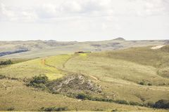 Visueel van spoorlapinha x dienblad in minas gerais stock foto