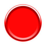 Visuel de bouton rouge Image stock