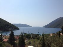 Visuel de la Grèce Image stock