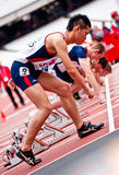 Visum-London-Unfähigkeit-Athletik-Herausforderung Stockbild