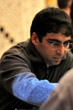 Viswanathan Anand Foto de Stock Royalty Free