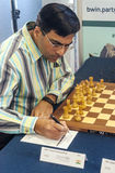 Viswanathan Anand imagem de stock