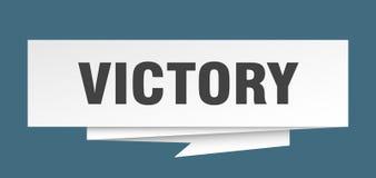 vitória ilustração stock
