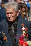 Vitória da parada em Kiev, Ucrânia Fotografia de Stock Royalty Free