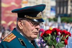 Vitória da parada em Kiev, Ucrânia Fotos de Stock