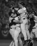 Vitória dos world series dos New York Yankees Imagens de Stock