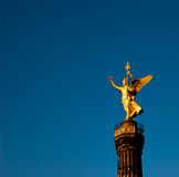 Vitória dourada Foto de Stock Royalty Free