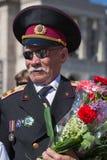 Vitória o 9 de maio de 2013 Kiev da parada, Ucrânia Fotografia de Stock Royalty Free