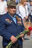 Vitória o 9 de maio de 2013 Kiev da parada, Ucrânia Fotos de Stock
