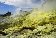 Vit ö i Nya Zeeland arkivfoton