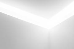 Vit arkitekturbakgrund, vit Arkivbilder