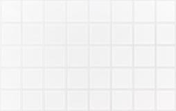 Vit bakgrund för tegelplattamarmorvägg Arkivbild