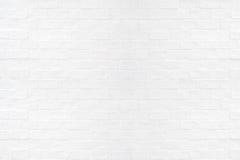 Vit bakgrund för textur för tegelstenvägg Royaltyfria Bilder