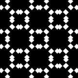 Vit bakgrund och svart repeted prickmodell Arkivfoton