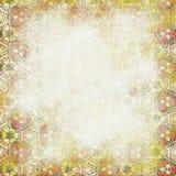 Vit bakgrund Sjaskigt mönstra Royaltyfria Bilder