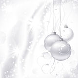vit bakgrundsjul Royaltyfria Foton