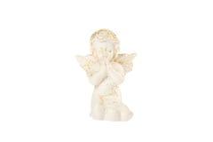 Vit behandla som ett barn ängel Royaltyfri Fotografi