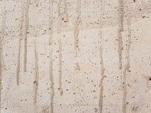 Vit betongvägg Arkivbild
