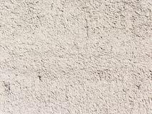 Vit betongvägg Royaltyfri Foto