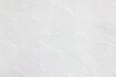 Vit betongväggbakgrund Royaltyfri Bild