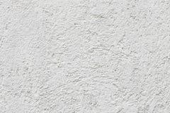 Vit betongväggtextur Arkivfoton